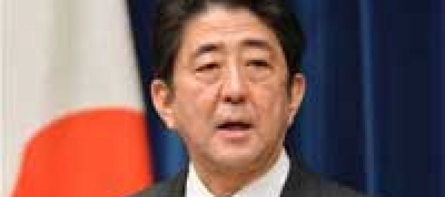 Japan PM promises firm stance on N.Korea