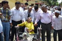 CMD, REC, Distributes Aids and Appliances to Persons with Disabilities under CSR initiatives