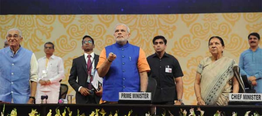 The Prime Minister, Narendra Modi launches Swavlamban Abhiyaan – new pro-poor initiatives of the Gujarat Government