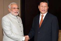 Modi meets Xi