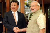Modi plays guide to Xi in Sabarmati Ashram