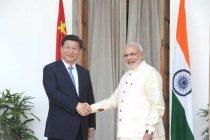 Modi, Xi meeting begins