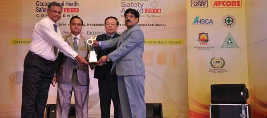 Safety Awards for NTPC