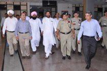 Food Minister Visits CWC, ICP Attari
