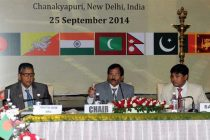The MoS (IC) for Culture and Tourism, Shripad Yesso Naik addressing at the inauguration of the 3rd Meeting of SAARC Ministers of Culture