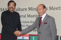 The Culture Minister of Afghanistan, Dr. Raheem and the MoS (IC) for Culture and Tourism, Shripad Yesso Naik