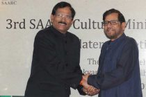 The Minister of Culture of Bangladesh, Asad Ud Zaman Noor and the MoS (IC) for Culture and Tourism, Shripad Yesso Naik