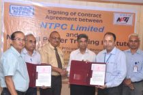 NTPC Signs Contract Agreement with NPTI