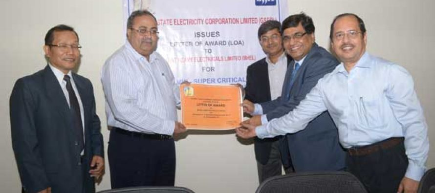 BHEL wins country's first ever EPC contract for 800 MW rating Supercritical Power Project