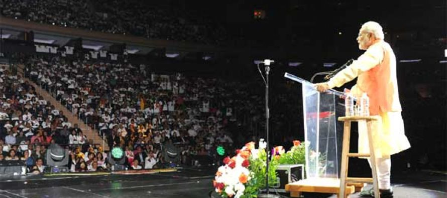 Will build India of your dreams, join in our effort: Modi to Indians abroad