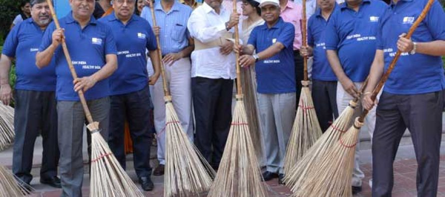 Cleanliness Drive under SWACCH BHARAT Mission at REC