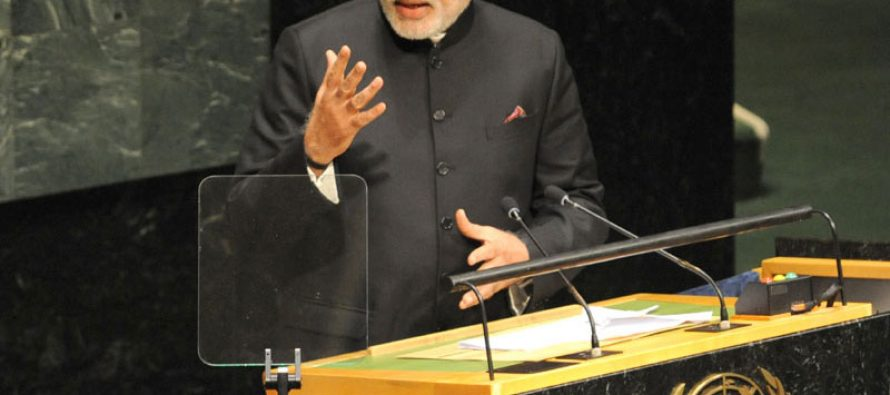 At UN, Modi asks world leaders to work for genuine peace