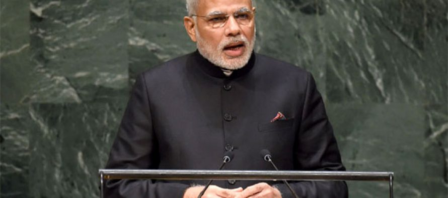 Time world is united instead of operating in various Gs: Modi