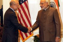 CEO of Goldman Sachs Lloyd Blankfein meeting the PM Narendra Modi, in New York