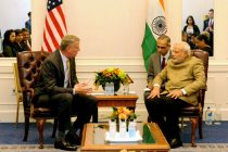 Modi discusses urban issues with NY mayor, health matters with Nobel laureate