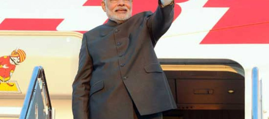 Modi returns after successful US visit