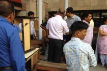 Swacch Bharat Mission- Scrap Disposal and Old Furniture auction at REC