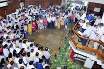 BHEL employees took the cleanliness pledge on the occasion of the nationwide launch of the Swachh Bharat Abhiyaan