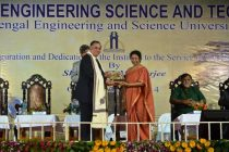 Chief Justice of Kolkata High Court, Justice Manjula Chellur, gave away the award at the inaugural function of the Indian Institute of Engineering