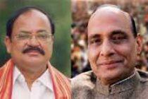 BJP to send Rajnath, Naidu as observers to Maharashtra, Haryana