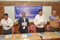 Vigilance Awareness Week inaugurated in HUDCO