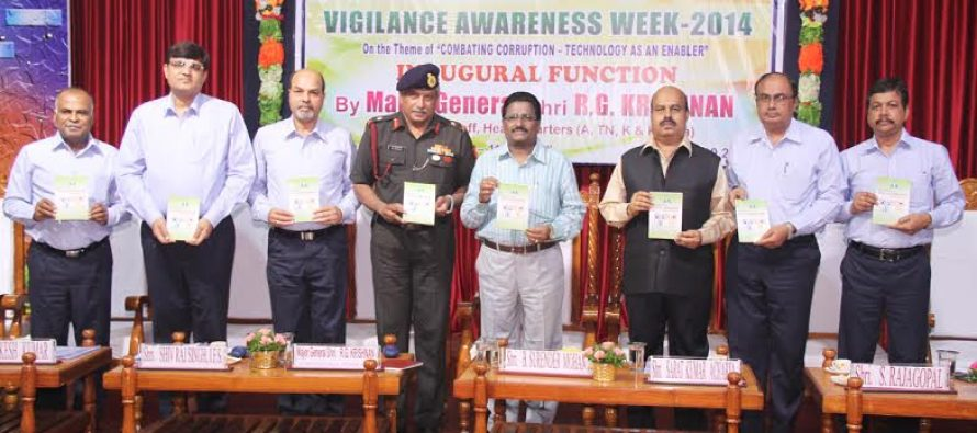 New initiatives in vigilance mark the inauguration of Vigilance Awareness Week-2014 celebrations at NLC