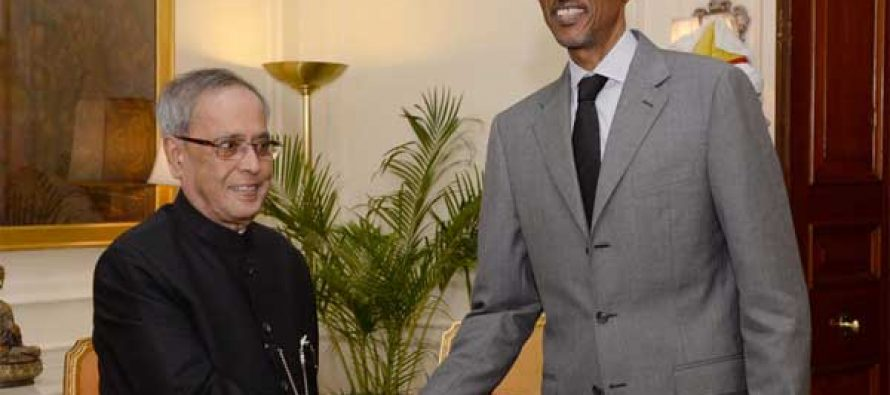 Rwanda keen to enhance ties with India: president