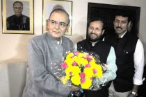 Arun Jaitley takes charge as I&B minister
