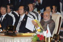 The Prime Minister, Narendra Modi at the East Asia Summit, in Nay Pyi Taw, Myanmar on November 13, 2014.