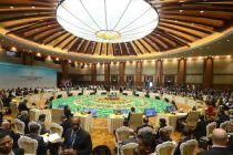 Panoramic View of East Asia Summit Session, in Nay Pyi Taw, Myanmar on November 13, 2014.