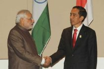 The Prime Minister, Narendra Modi meeting the President of Indonesia, Joko Widodo, in Nay Pyi Taw, Myanmar on November 13, 2014.