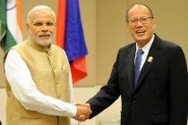 The Prime Minister, Narendra Modi meets the President of the Philippines, Benigno Simeon Cojuangco Aquino III