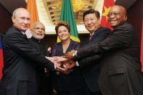 The Prime Minister, Narendra Modi with the other BRICS leaders ahead of G-20 Summit, in Brisbane, Australia on November 15, 2014.