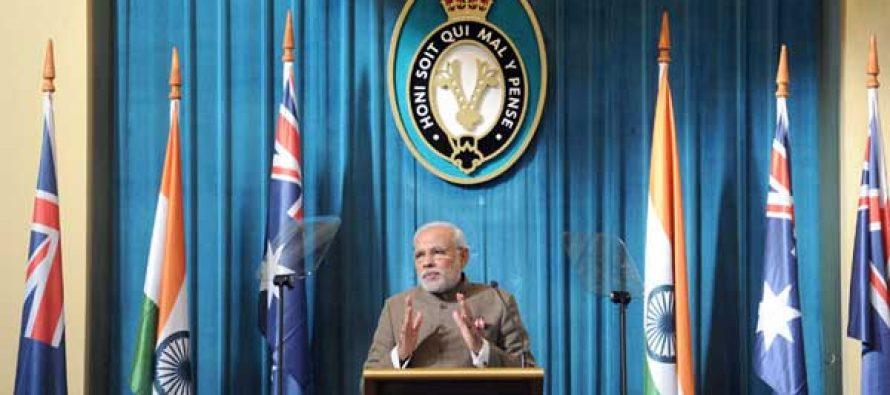 Successful India to provide vast opportunity for world: Modi