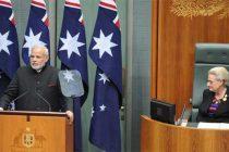 India, Australia should cooperate in maritime security: Modi