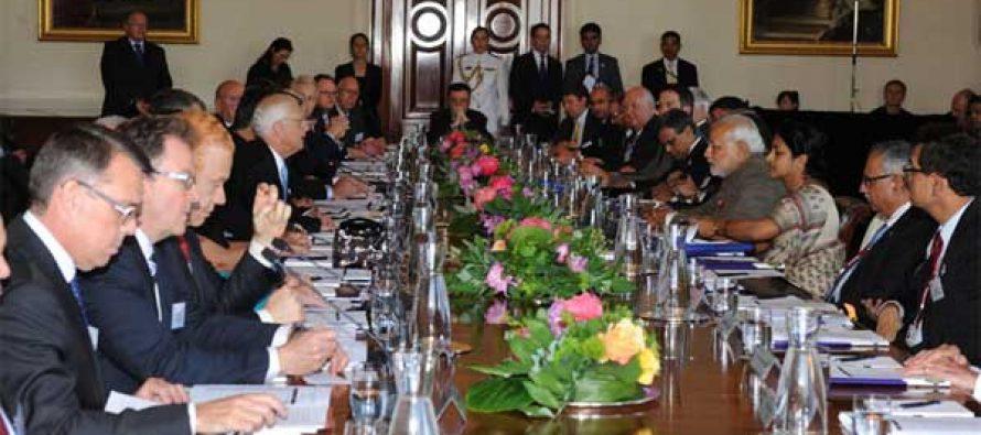 Modi meets top Australian industry leaders