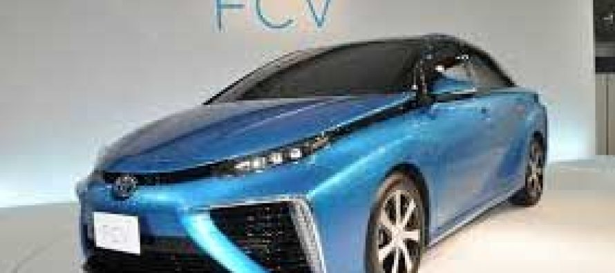 Toyota set to become world's first FCV seller