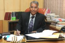 Justice Mr. C.K Prasad taking charge as the Chairman for Press Council of India, in New Delhi on November 27, 2014.