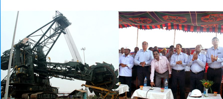 B. Surender Mohan, CMD NLC Commissioned the  Specialized Mining Equipment
