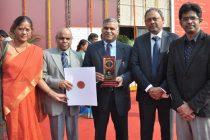 REC receives Gold Medal at IITF 2014