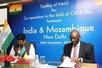 India, Mozambique ink MoU for oil, gas cooperation