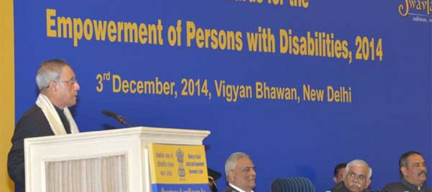 Education key to empower people with disability: President