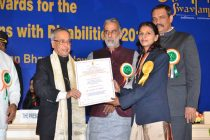 National Award for NTPC Employee