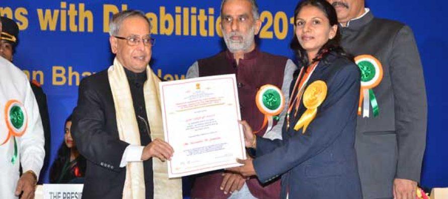 National Award for NTPC Employee