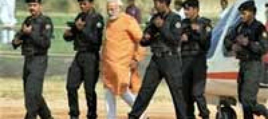 Modi arrives in Jammu