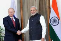 The Prime Minister, Narendra Modi with the President of the Russian Federation, Vladimir Putin, in New Delhi on December 11, 2014.