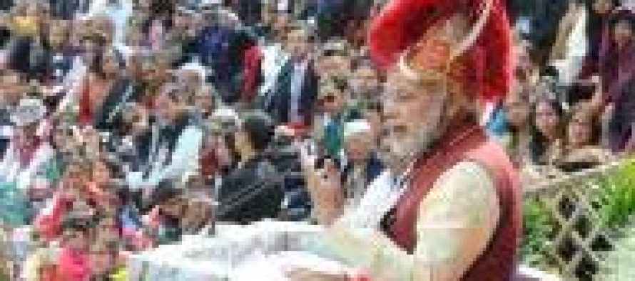 Modi promotes northeast as tourist destination
