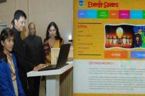 "The MoS (IC) for Power, Coal and New and Renewable Energy, Piyush Goyal launching the ""Energy Savers"" Web Portal,"