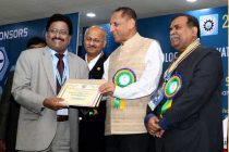 """""""Best Industrial Relations Award"""" to CMD, NLC by the IE(India)"""