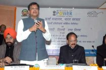 The MoS (IC) for Power, Coal and New and Renewable Energy, Piyush Goyal addressing at the launch of the LED